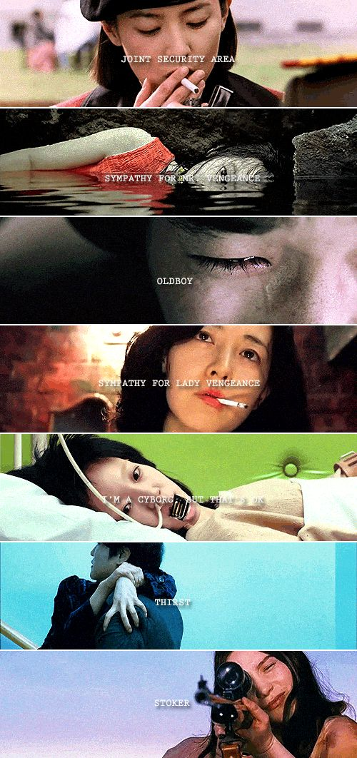 Park Chan-wook filmography 2000 - 2013