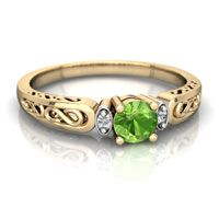 "Ancient Egyptians knew it as ""the gem of the sun."" https://www.jewelsforme.com/peridot-meaning"
