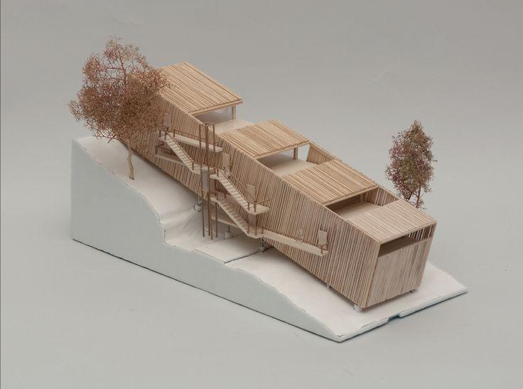 architecture model _ 22 HOUSING IN ANNEMASSE | NADAU LAVERGNE ARCHITECTS | Archinect