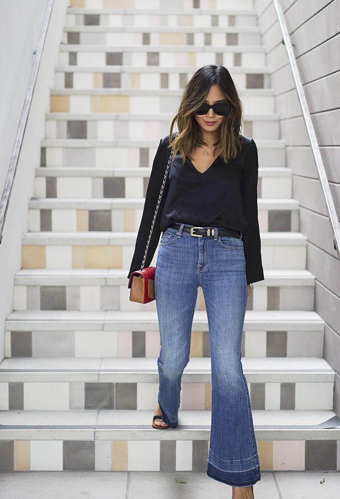 Para o final de semana e até looks para sexta-feira casual, o jeans é a nossa primeira escolha, não é verdade? Mas os looks com jeans não precisam ser...