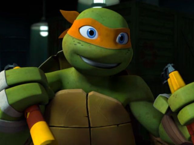 I got: Michelangelo! Which TMNT Character Would Fall For You? oh my gosh yes hes my boyfriend