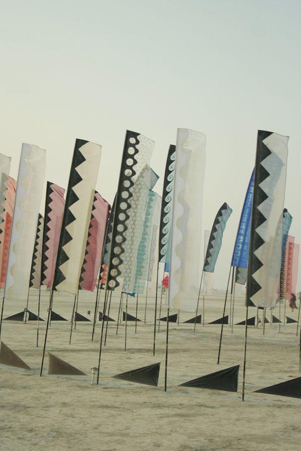 Takich flag u nas nie było, ale kto wie...może ktoś z Was stworzy taką wyjątkową ścieżkę?