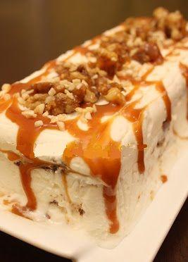 Caramel semifreddo