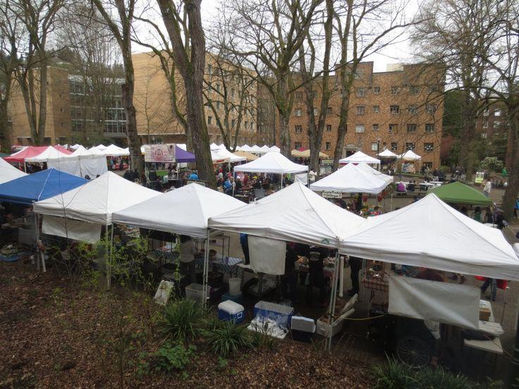 PSU Farmers Market in #Portland Oregon