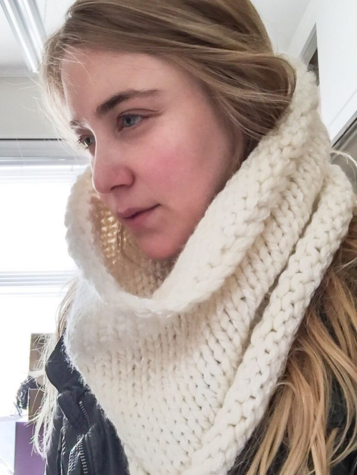 Beautiful Big Knit Cowl. Cowls by SoTwisticated