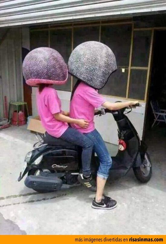 Nueva medida para los cascos de moto. Todo sea por la seguridad.