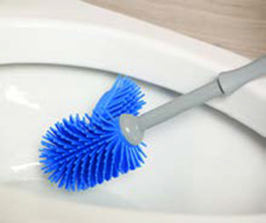 Norwex Ergonomic Toilet Brush and Holder -Our new and improved Ergonomic Toilet Brush contains an antibacterial agent to help suppress the growth of bacteria and mold to protect the brush.The brush's ThermoPlastic Rubber bristles are extremely durable and flexible and won't wear out as quickly over time like with standard nylon brush bristles. http://www.fastgreenclean.com/2016/01/ergonomic-toilet-brush-and-holder.html