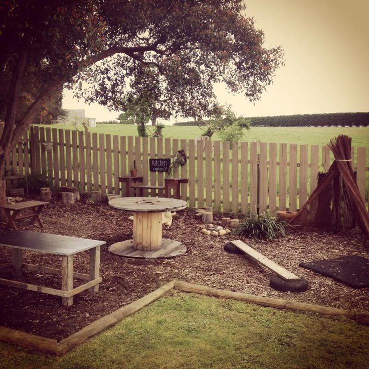 The outdoor play space at Nurtured Learning Family Day Care - 2014
