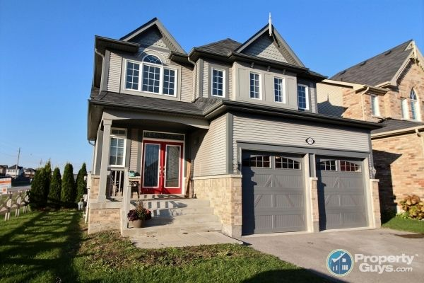 Welcome to 210 Honeyman Dr. in Bowmanville, ON.  Don't miss this gorgeous 4 plus 1 bedroom (4 bath) family home with fully finished basement in desired area of north Bowmanville. Move in ready. Over $200,000 in upgrades! Large lot with no homes behind. Backyard oasis with in-ground salt water pool and interlock brick patio. Family friendly court (safe for kids) and close to all amenities including parks and schools (public, Catholic & High School). Easy access to public transportation...