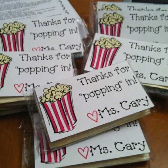 28 Pun Tastic Teacher Gifts. Open House ...