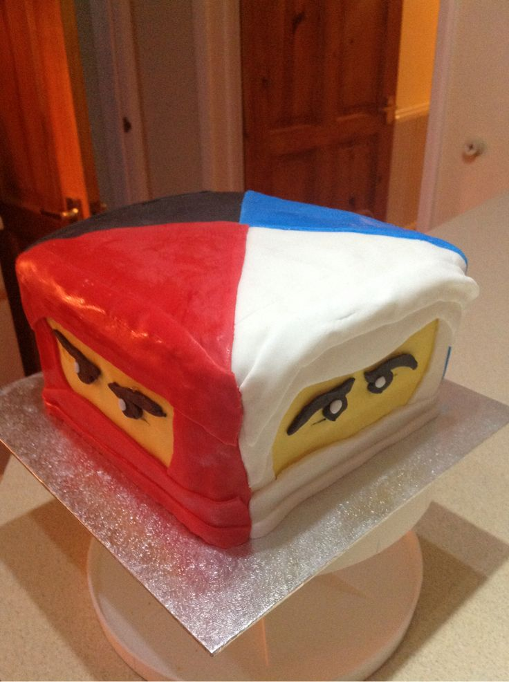 Lego Ninjago Birthday cake.