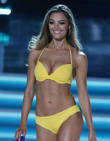 Miss South Africa Demi-Leigh Nel-Peters swimsuit pictures