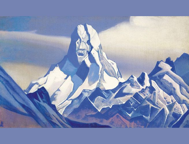 Roerich Paintings | by nicholas roerich 1874 1947 a spiritually inspired artist whose ...
