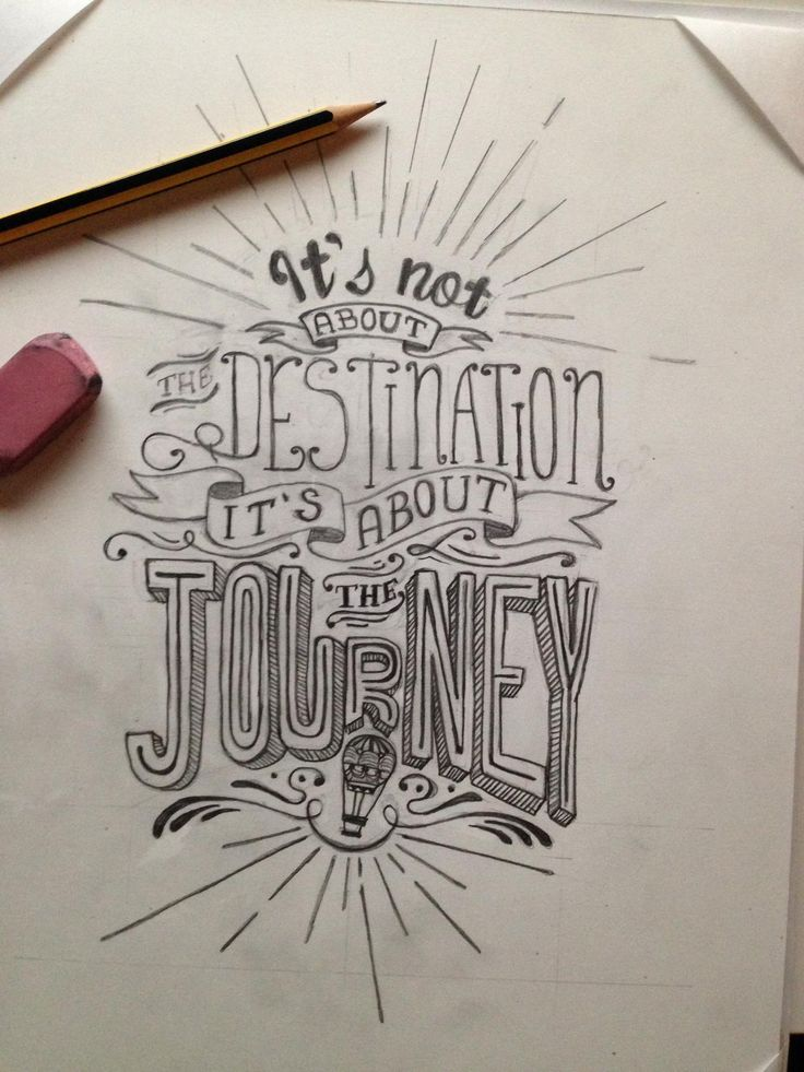 (1) It's not about the destination it's about the journey by Alessandro Zaccaro - Skillshare