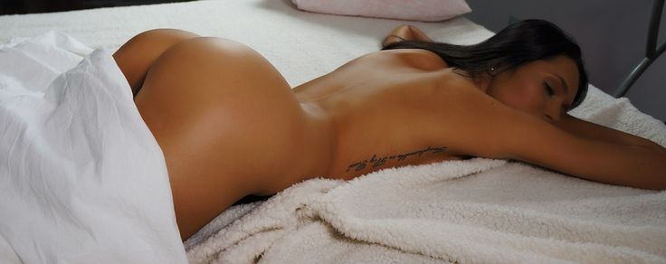 on the bed -