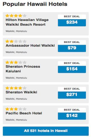 """Want to go Hawaii or Honolulu?<br>Looking for a hotel in this city or nice hotels at lowest rates?<br>Promotions and discounts updates available here!<p>Features:<br>- Simply search by location<br>- Search """"around me"""" to find all available rooms<br>- Interactive map with zoom in and zoom out functions<br>- See the hotel details, ratings, pictures, facilities, features, etc.<br>- """"Search the World"""" feature for all hotels in the world <br>- Free travel tips & guide too!<br>- Built-in Camera…"""