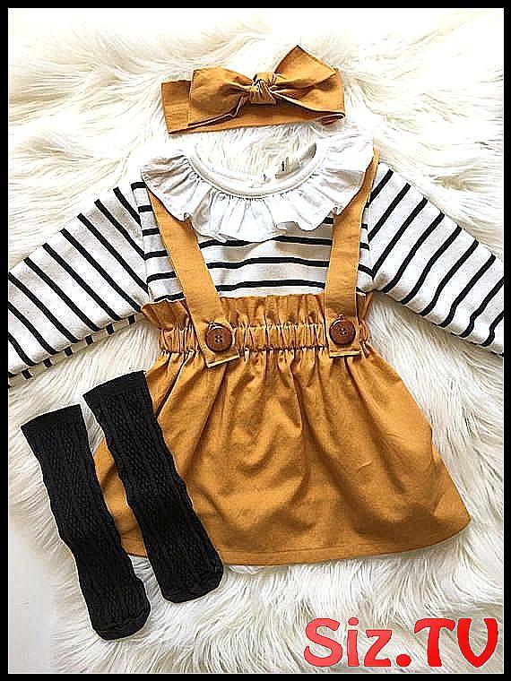 Girl's Gold Suspender Skirt, Toddler Vintage Style Jumper