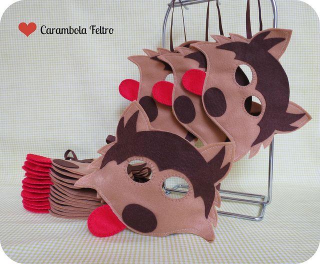 :) | 17 máscaras lindas para a festa da Cissa!!! Pedido da m… | Flickr