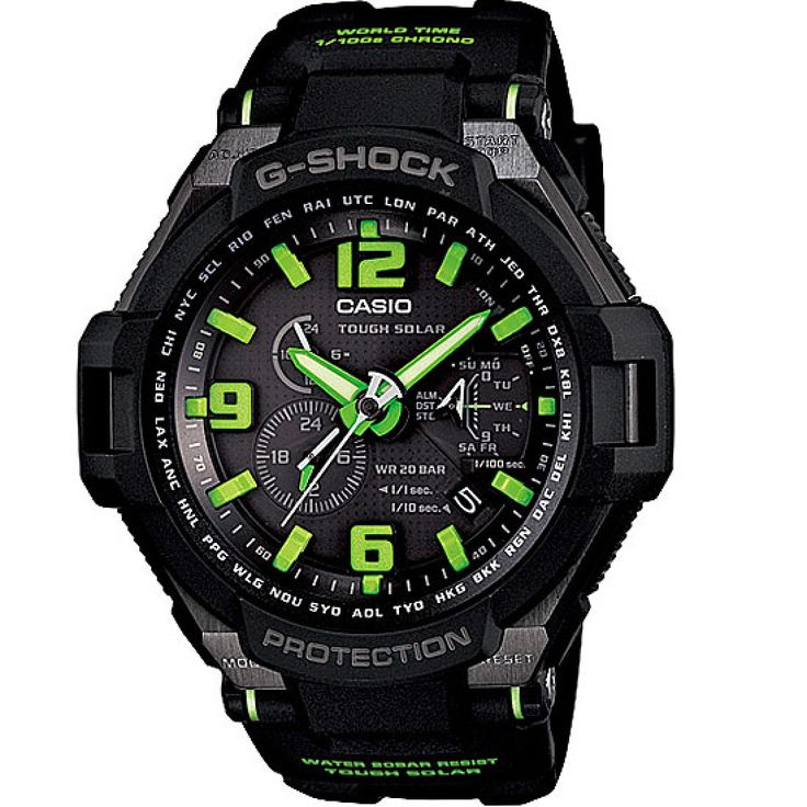 Casio G-Shock Gravity Defier Tough Solar Watch G-1400-1A3