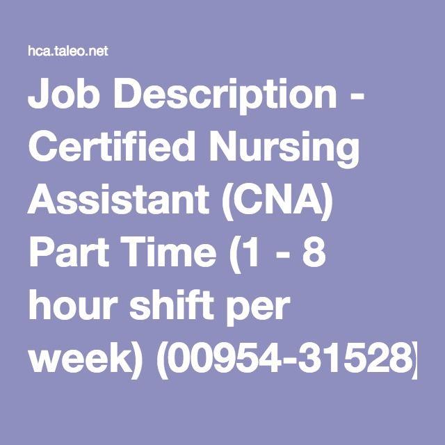 ccCNA - Utah CNA - Certified Nurse Aide Instruction Annika - cna job description