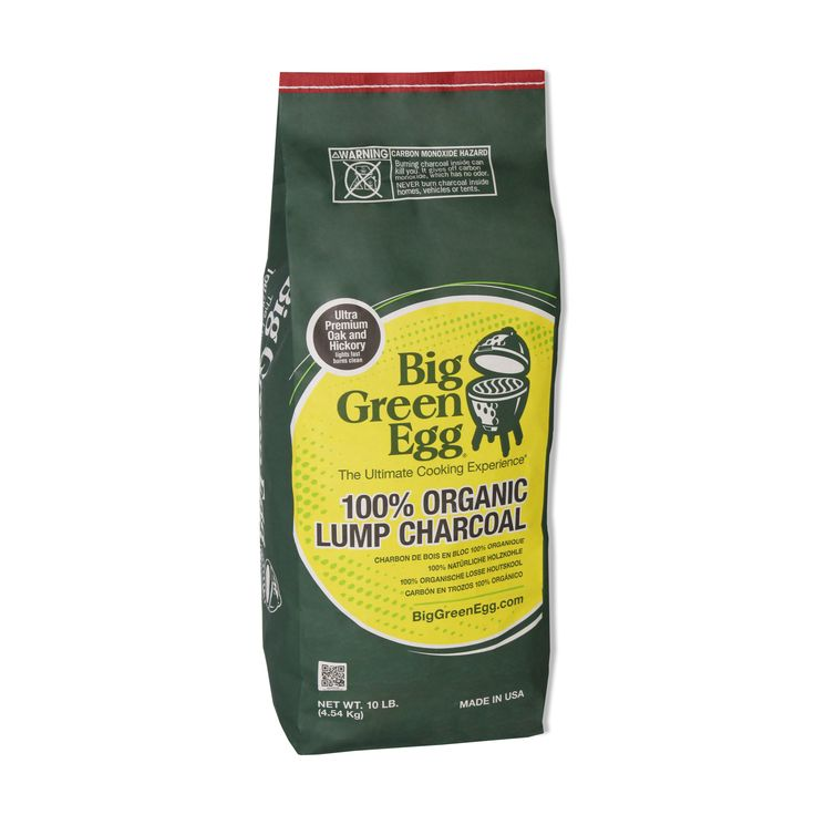 Fast to light and slow to burn, our superior Natural Lump Charcoal is made from 100% Oak and Hickory wood, and contains no by-products, chemical fillers or petr