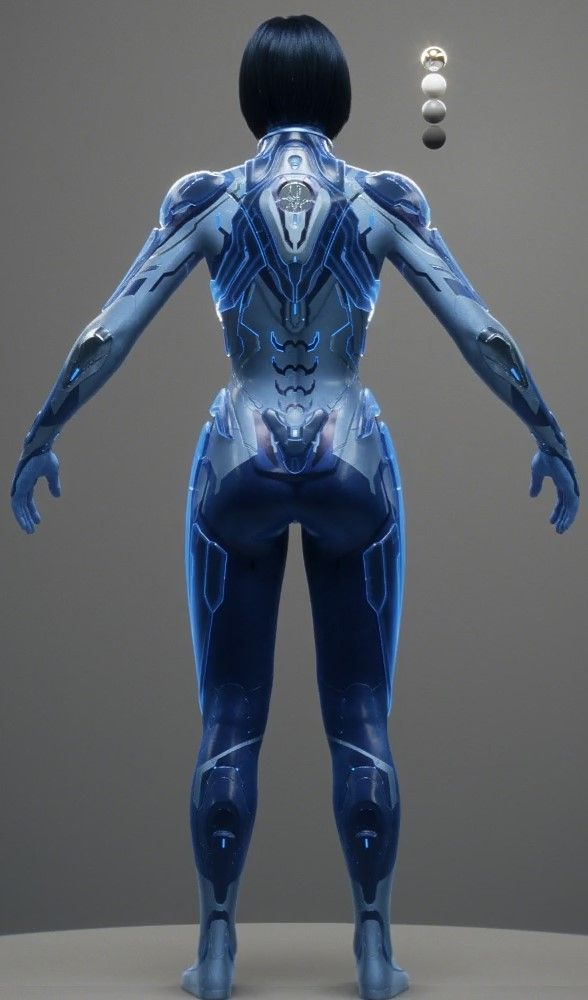 Halo 5 Cortana Render                                                                                                                                                      Más