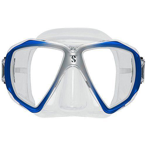 ScubaPro Spectra Dive Mask (Silver / Blue) by Scubapro. ScubaPro Spectra Dive Mask (Silver / Blue).