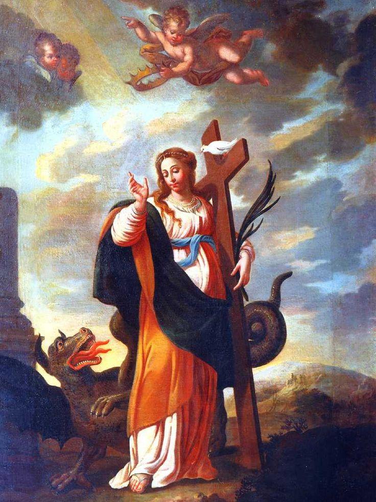 Saint Margaret the Patron Saint of Expectant Mothers