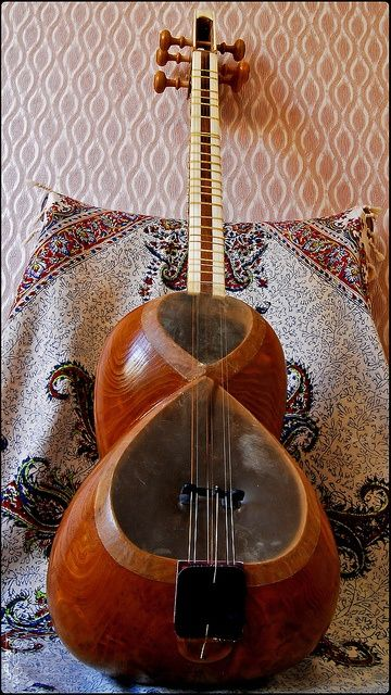 Taar, Iranian Folk, Traditional Classic Music Instrument