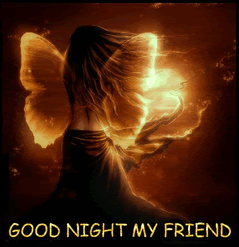 Goodnight To My Friend | buenas noches | Pinterest ...  Beautiful Good Night Images For Friends