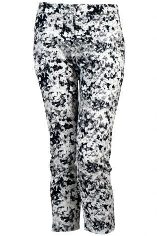 Mado   Mado Trousers Black/white Womenswear