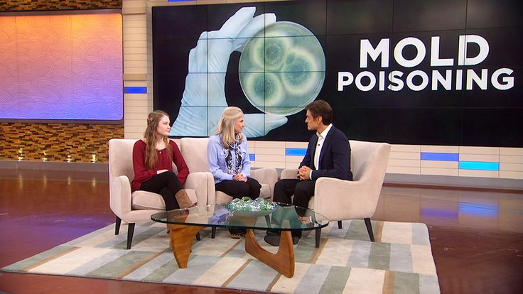 How to Protect Your Family From Mold Poisoning: Dr. Oz talks to two victims of mold poisoning and the symptoms that helped indicate their diagnosis.