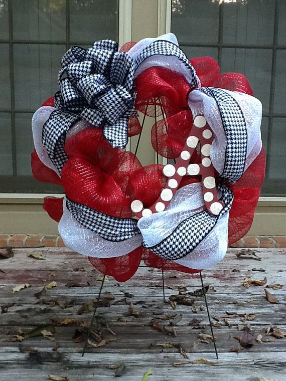 University of Alabama Wreath by SouthernThrills on Etsy, $40.00