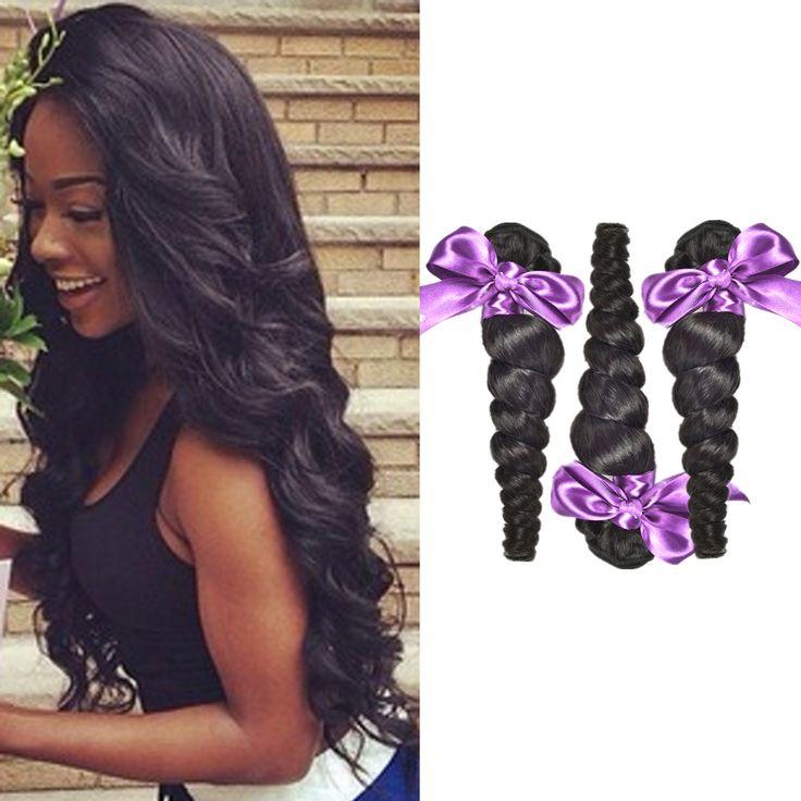 virgin hair natural straight hair weave