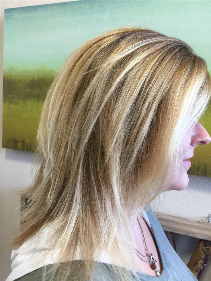 Hair by Suzanne Standish Coffey @ Phenix Salon Suites Highlight converted to balayage.