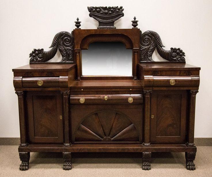 c1830 Empire sideboard, prob A Quervelle, Phila, PA, mah, 67t, · Antique  FurnitureSideboardPhiladelphiaAntique ... - 23 Best Maker - Quervelle, Anthony. Philadelphia, PA Images On