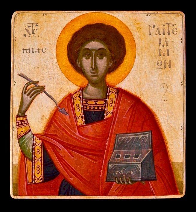 St. Panteleimon by Gabriel Toma Chituc
