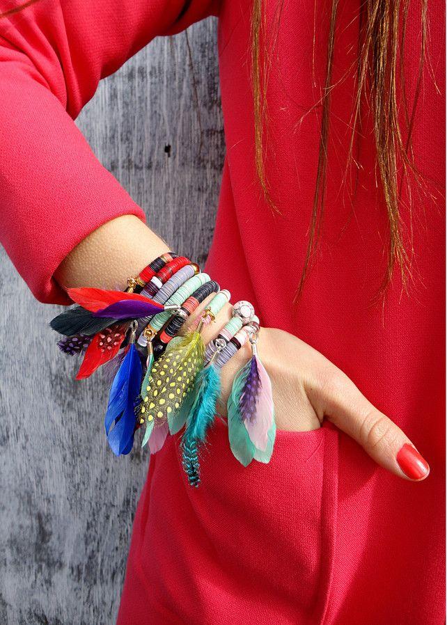 Aztequin Bracelet Dreamcatcher Pink