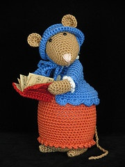 Dickens Mouse: Olivia crochet