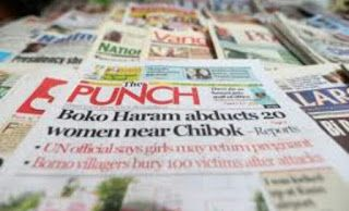 YinkaTimayin's Blog: MAJOR NEWSPAPER HEADLINES TODAY THURSDAY 8TH JUNE ...