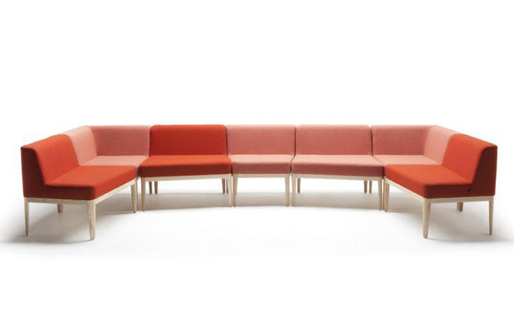Vino Arktis Vino, een loungebank van PLAN@OFFICE ontworpen door Arktis.