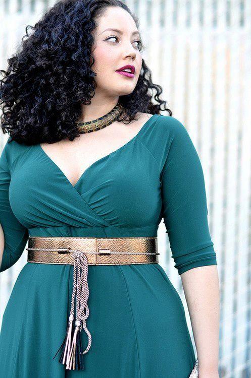 des robes pour les femmes rondes ~