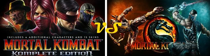 Is Mortal Kombat Komplete Edition Better than Mortal Kombat 9? http://www.videogamesnest.com/2016/01/is-mortal-kombat-komplete-edition-better.html #games #pcgames #gaming #videogames #fighting #action #MortalKombatKompleteEdition