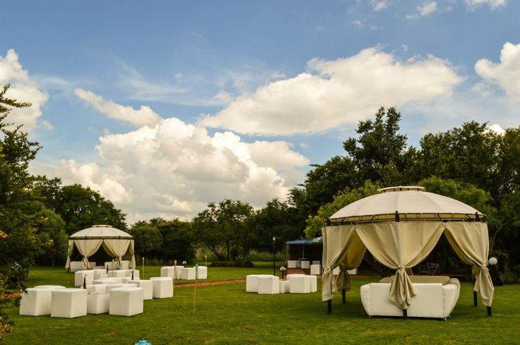 Outdoor weddings can be arranged! www.casa-lee.co.za