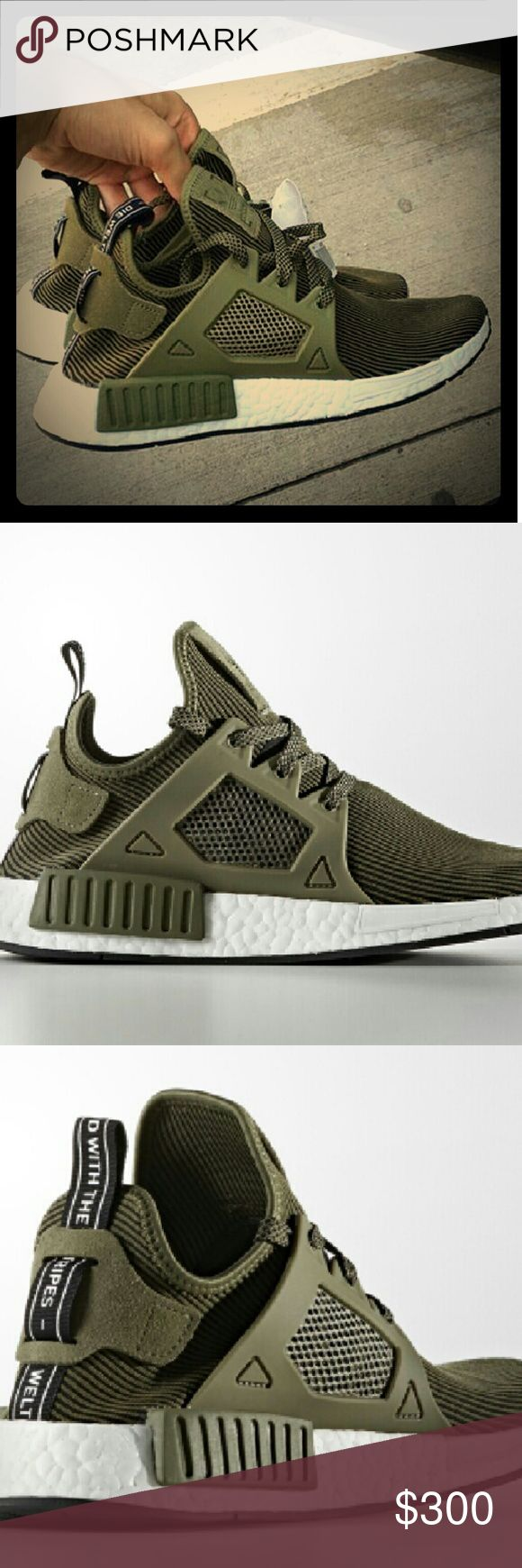Adidas NMD XR1 Olive Brand new adidas originals NMD XR1. Rare sneakers. Adidas Shoes Sneakers