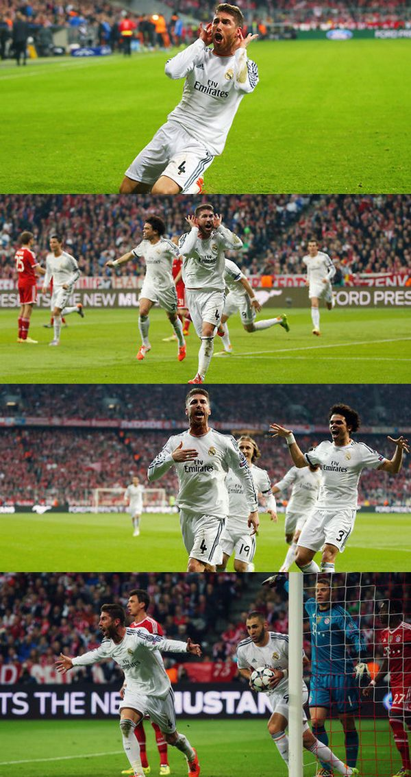 Real Madrid 4-0 Bayernde Munich
