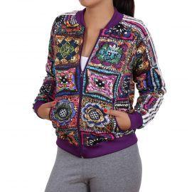 Adidas Ladies Crochita Supergirl Trainingsjacke Mehrfarbig