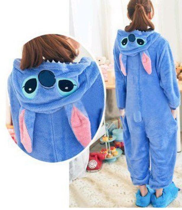 Stitch Footie Pajamas! NO WAY.