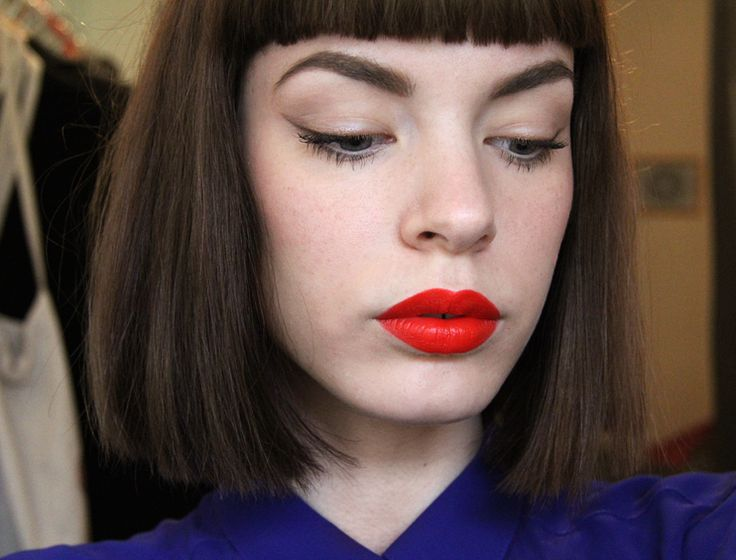 Killer Colours in my favourite MAC lipstick, Lady Danger. Look by Viola of rodeo.net/killercolours