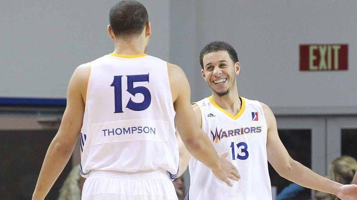 Santa Cruz Splash Brothers: Seth Curry & Mychel Thompson
